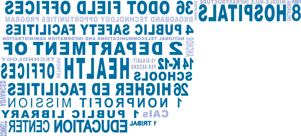 OCAN Community Anchor Institution Word Graphic